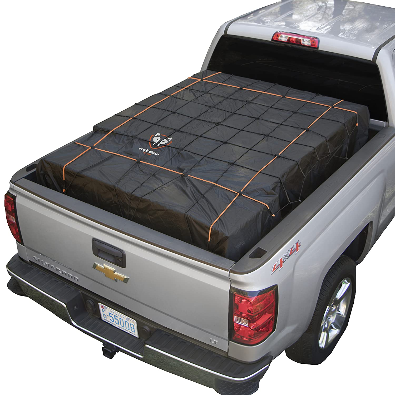 Truck Bed Cargo Net >> Rightline Gear 100t60 Black Truck Bed Cargo Net With Built In Tarp