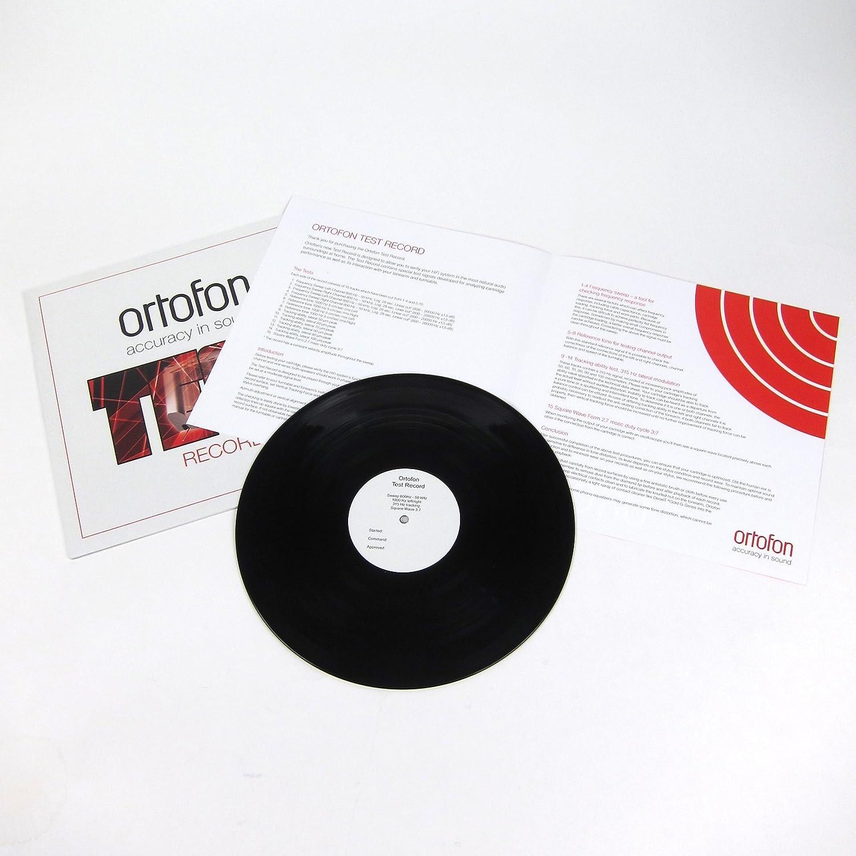Amazon.com: Ortofon: Test Acta de vinilo LP: Industrial ...