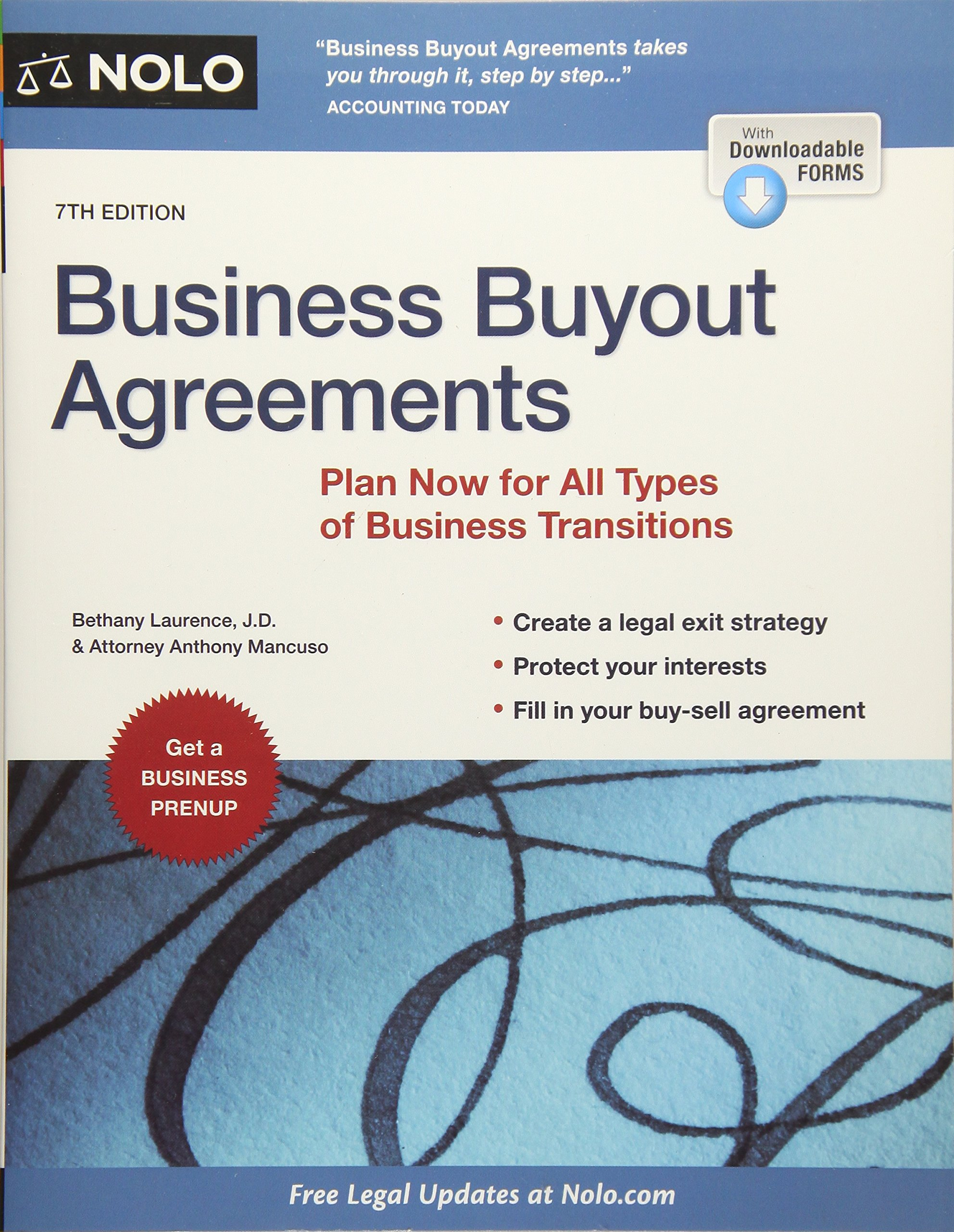 Amazing Amazon.com: Business Buyout Agreements: Plan Now For All Types Of Business  Transitions (9781413322637): Anthony Mancuso Attorney, Bethany K. Laurence  J.D.: ...