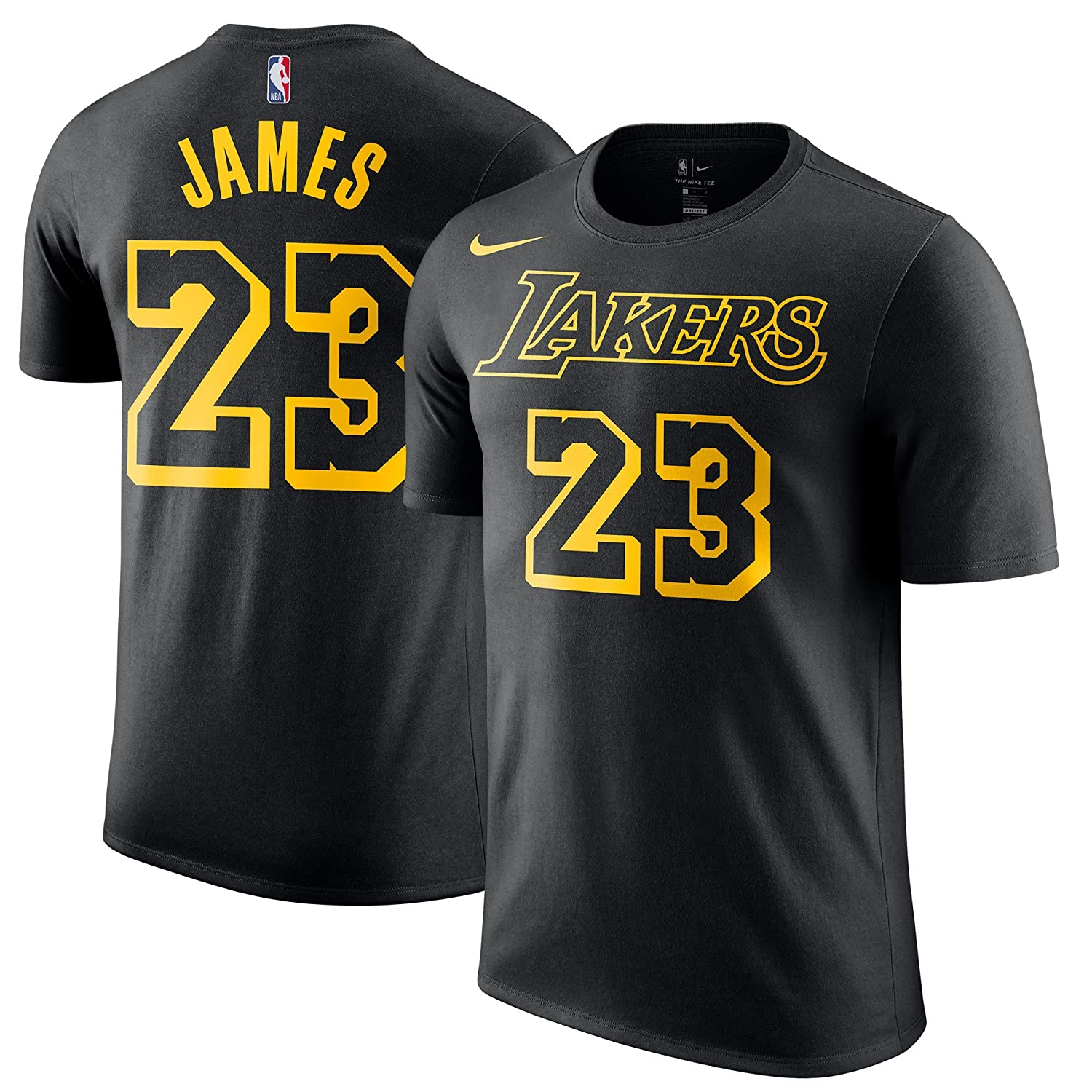 24e04667d Amazon.com: Nike Youth Lebron James Los Angeles Lakers City Edition ...