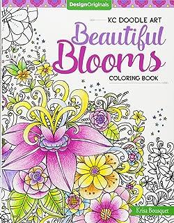 KC Doodle Beautiful Blooms Coloring Collection Kc Art