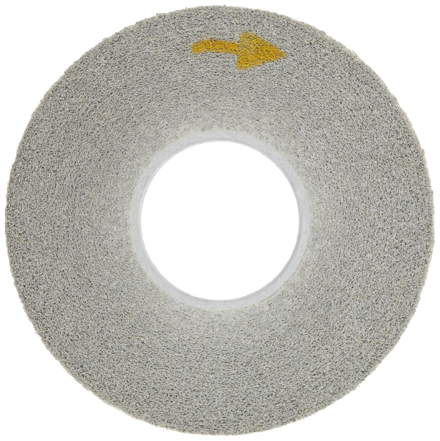 Scotch-Brite(TM) EXL Deburring Wheel, Silicon Carbide, 3000 rpm, 12 Diameter x 1 Width, 5 Arbor, 9S Fine Grit (Pack of 1)