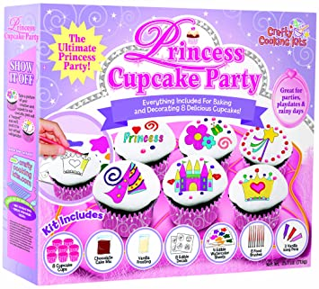 Amazon Brand Castle Crafty Cooking Princess Cupcake Deluxe Kit
