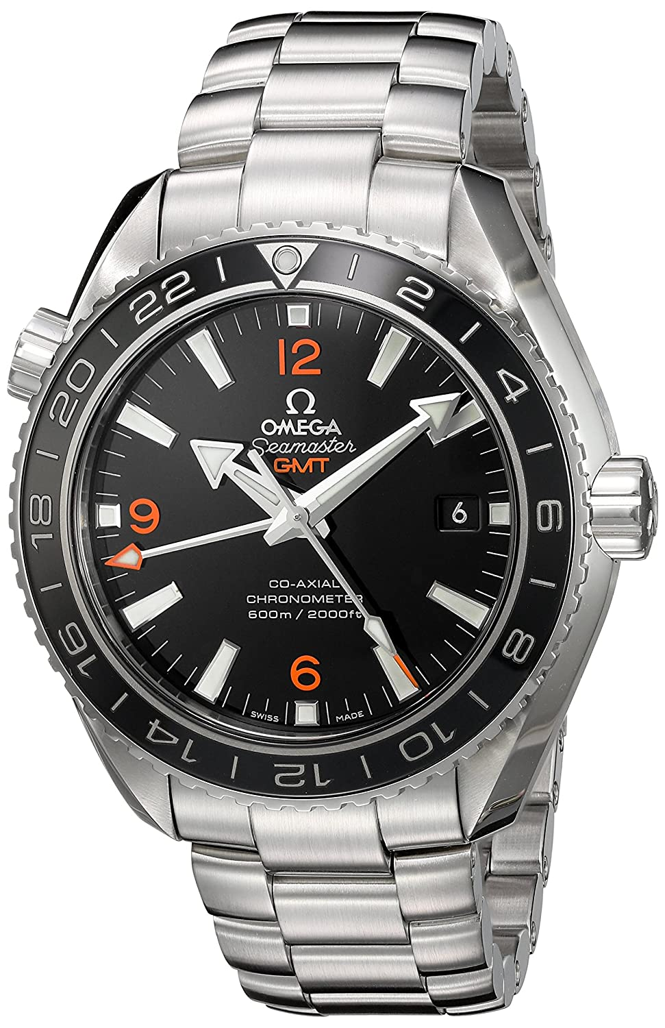 Amazon.com: Omega Mens Planet Ocean Swiss Stainless Steel Automatic Watch, Color:Silver-Toned (Model: 23230442201002): Watches