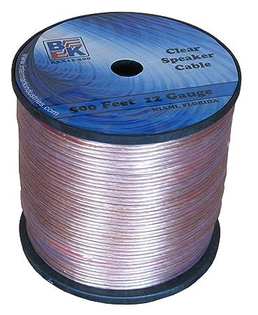 Blast King IR2X12 500-Feet 12 Gauge Speaker Wire