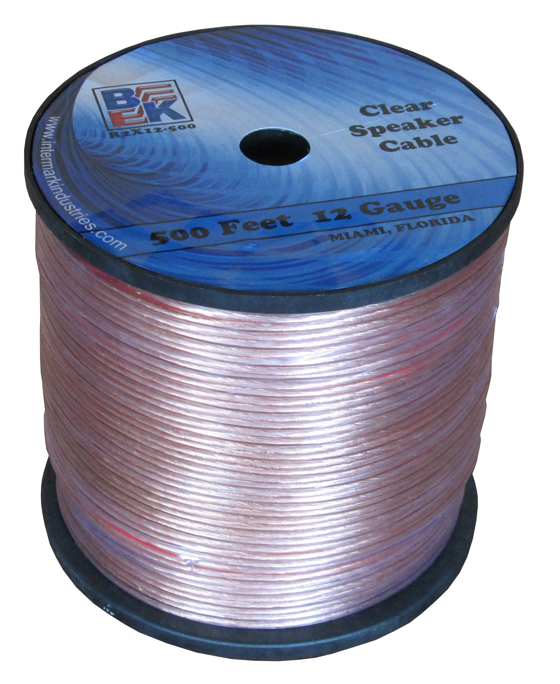 Blast King IR2X12 500-Feet 12 Gauge Speaker Wire