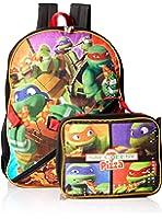 Nickelodeon Boys' Teenage Mutant Ninja Turtles Backpack with Lunch Kit