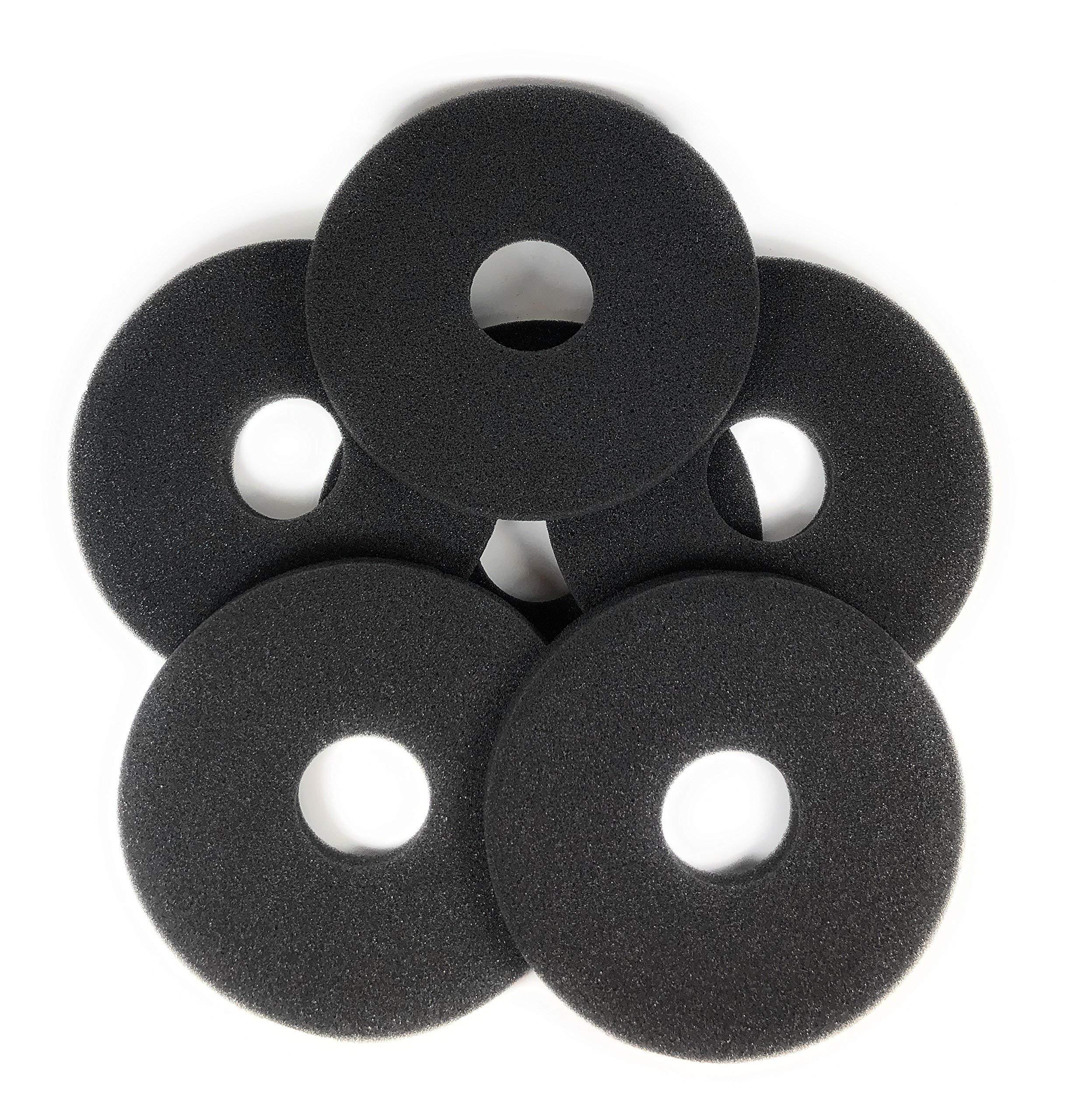 Margarita Salt Glass Bar Rimmer Replacement Sponges Set of 6, Black by SUMMIT Salt Rimmer Replacement Sponges (Image #9)
