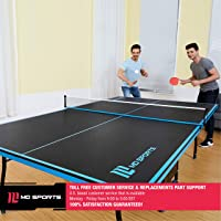 Deals on MD Sports Table Tennis Set, Regulation Ping Pong Table w/Net