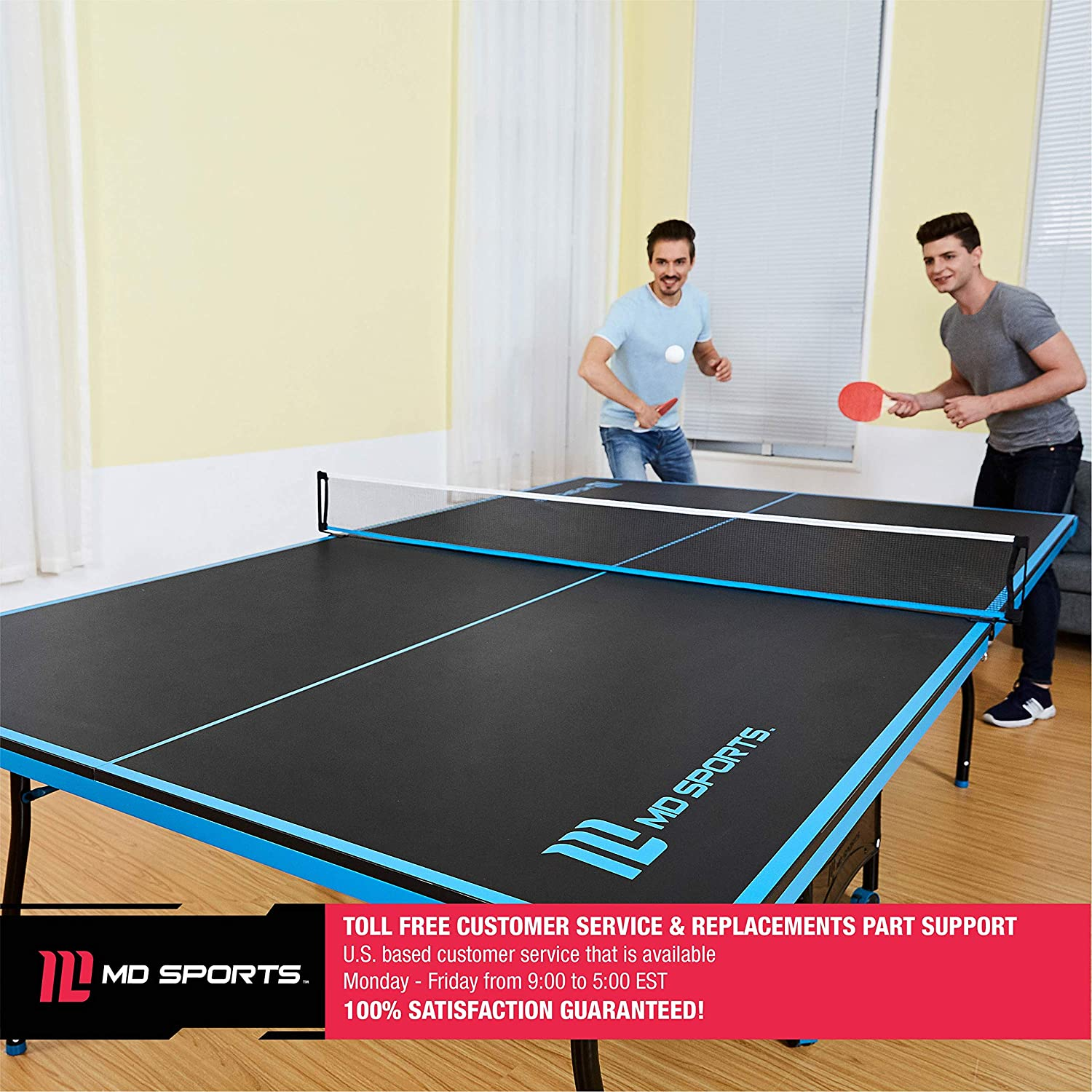 Same and different between indoor and outdoor table tennis tables