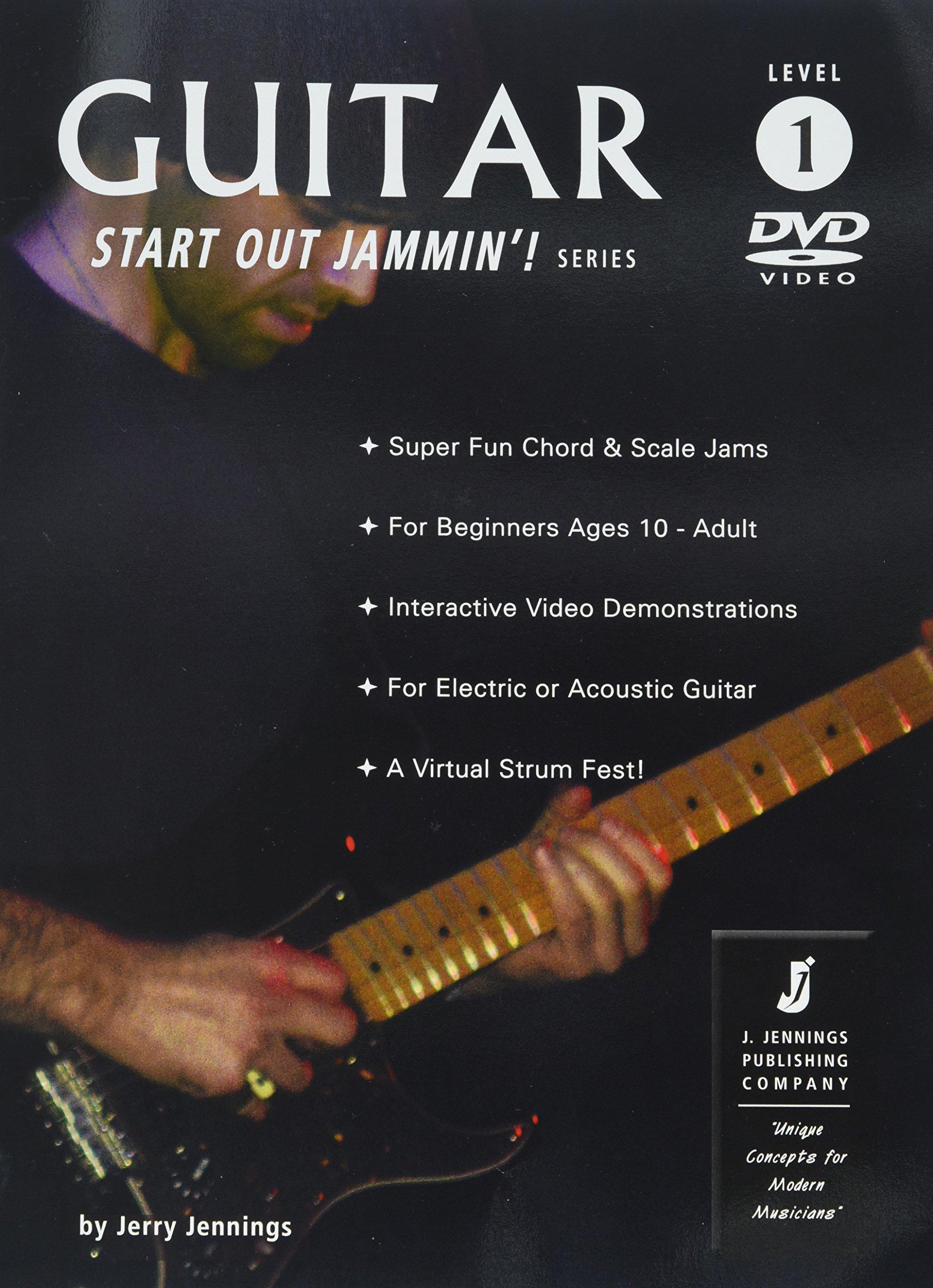 Guitar 1 - Start Out Jammin'! (A Beginner Guitar Instruction Book & Online  Videos): Jerry Jennings: 9780970003836: Amazon.com: Books