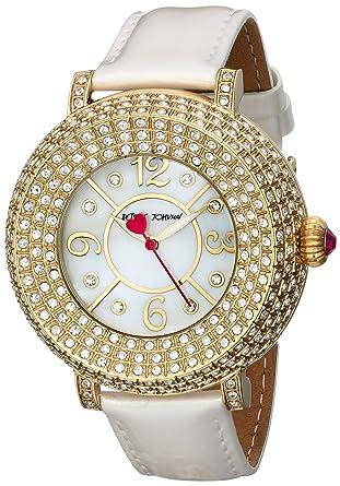 5f9056e3ec65 Amazon.com  Betsey Johnson Women s BJ00219-02 Gold Watch  Watches