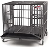 42 Quot Black Commercial Quality Heavy Duty Pet Dog Cage Crate