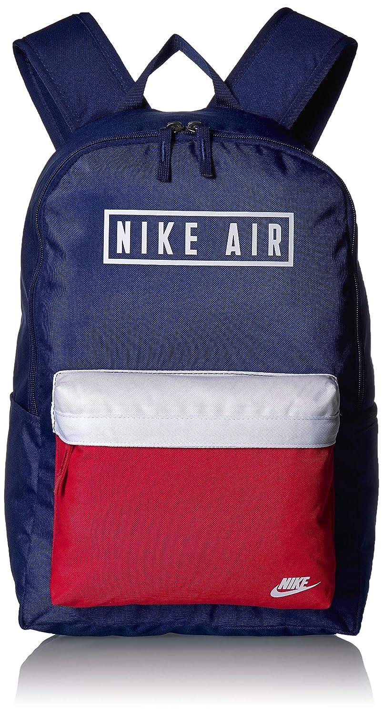Nike Sac /À Dos Air Heritage 2.0 Graphic Bleu Sans taille