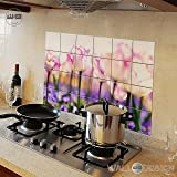 Buy Splatter Shield Kitchen Wall Protector Set Of 10