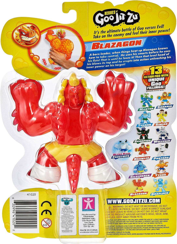 41020 Dragon Goo Jit Zu 1 Pack-Blazagon Multicolore