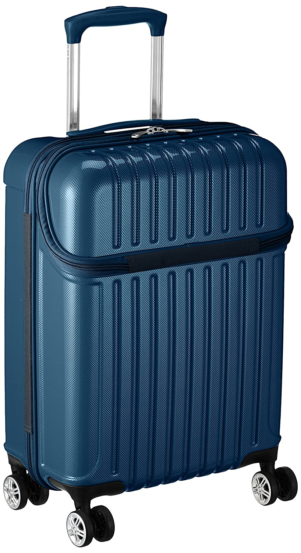 [アクタス] スーツケース トップス S 33L 3.2kg トップオープン 機内持ち込み 機内持込可  33.0L 53.5cm 3.2kg 74-20310 B077YDGFXN ブルーカーボン ブルーカーボン