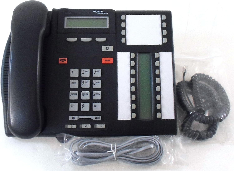 Charcoal Fully Refurbished Nortel T7316E Display Phone
