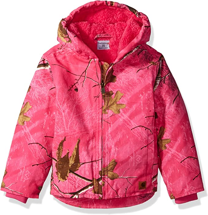 best hunting jackets: Carhartt Girls' Redwood Jacket Sherpa Lined