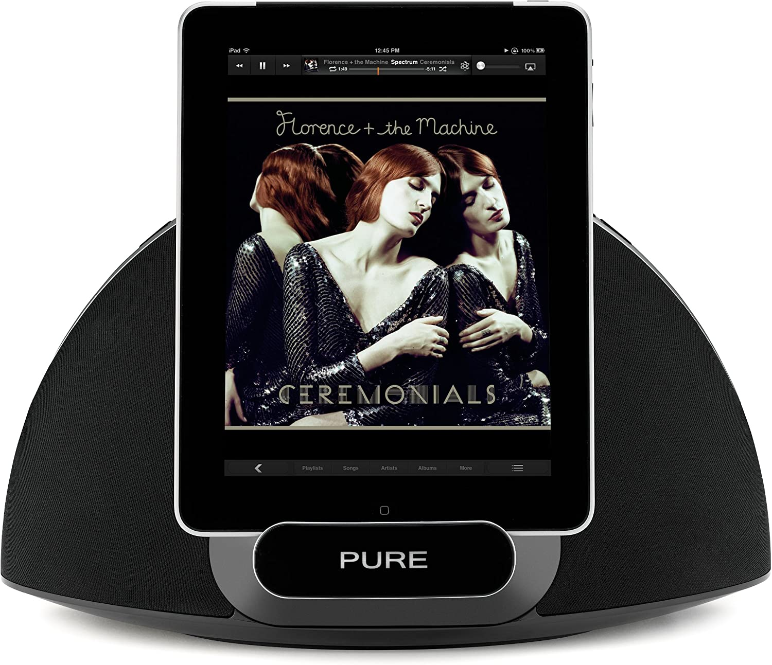 Pure Contour 200i Wireless Digital Music System with AirPlay and Docking Station Speaker for iPad 1 2 3 Ipod Touch Classic Nano Iphone 1 2 3 3gs 4 4s