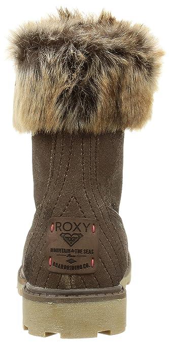 Roxy Timber J Boot - Botas para la Nieve para Mujer, Color Marrón (Brn), Talla 38