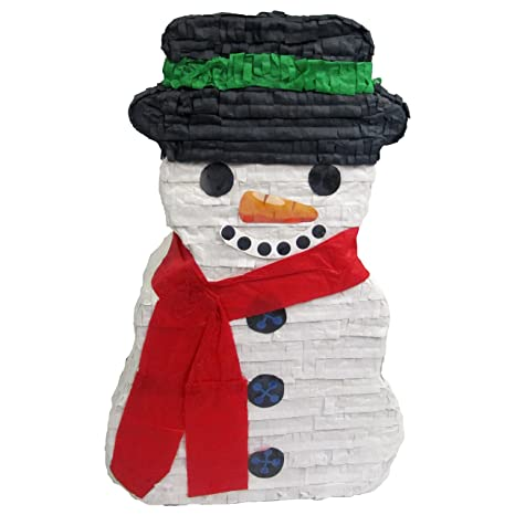 pinatas snowman christmas party game decoration and photo prop 20 - Christmas Decoration Games