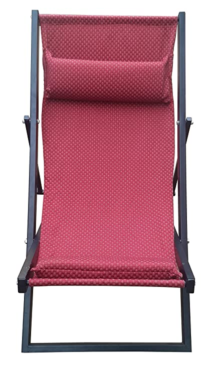 Smart Shelter Super Strong Folding Rest/Relax Outdoor and Indoor Chair(with Foam Padded Cushions) (100% Metal Body)
