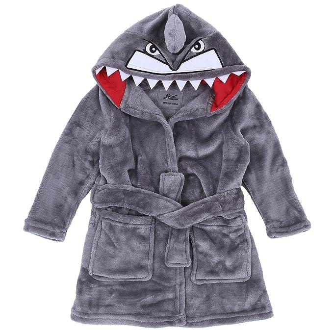 Bata gris Tiburón REBEL - 1,5-2 Años 92 cm