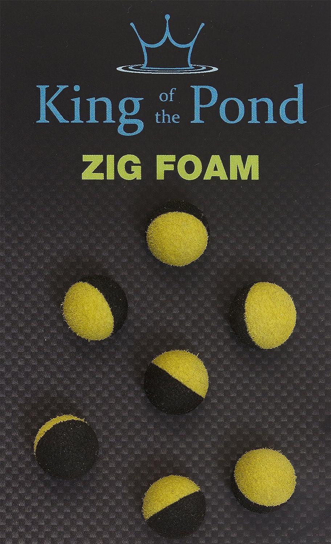 carp fishing Zig balls white foam qty 10