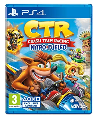 CrashTM Team Racing Nitro-Fueled (PS4): Amazon co uk: PC & Video Games