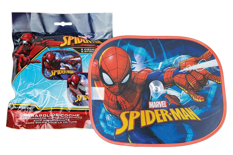 Spiderman 46722-S Set de 2 Pare-soleils