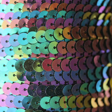 5 METRES OF FLAT STRUNG 6MM SEQUINS TRIM MANY COLOURS TO CHOOSE FROM