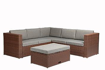 Amazon Com Baner Garden K35 Br 4 Pieces Outdoor Furniture Complete