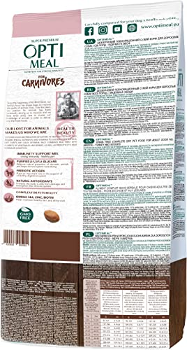 OPtimeal Carnivores Grain Free Dry Dog Food
