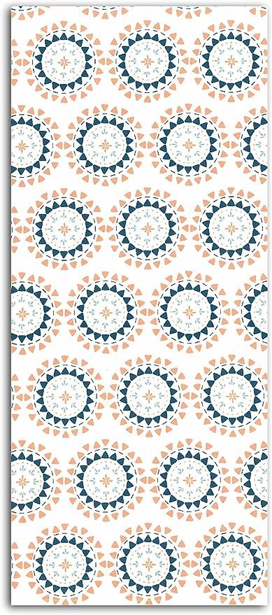 Dailylike lkc30 – Retal de Tela algodón Blanco/Azul/Naranja 110 x ...
