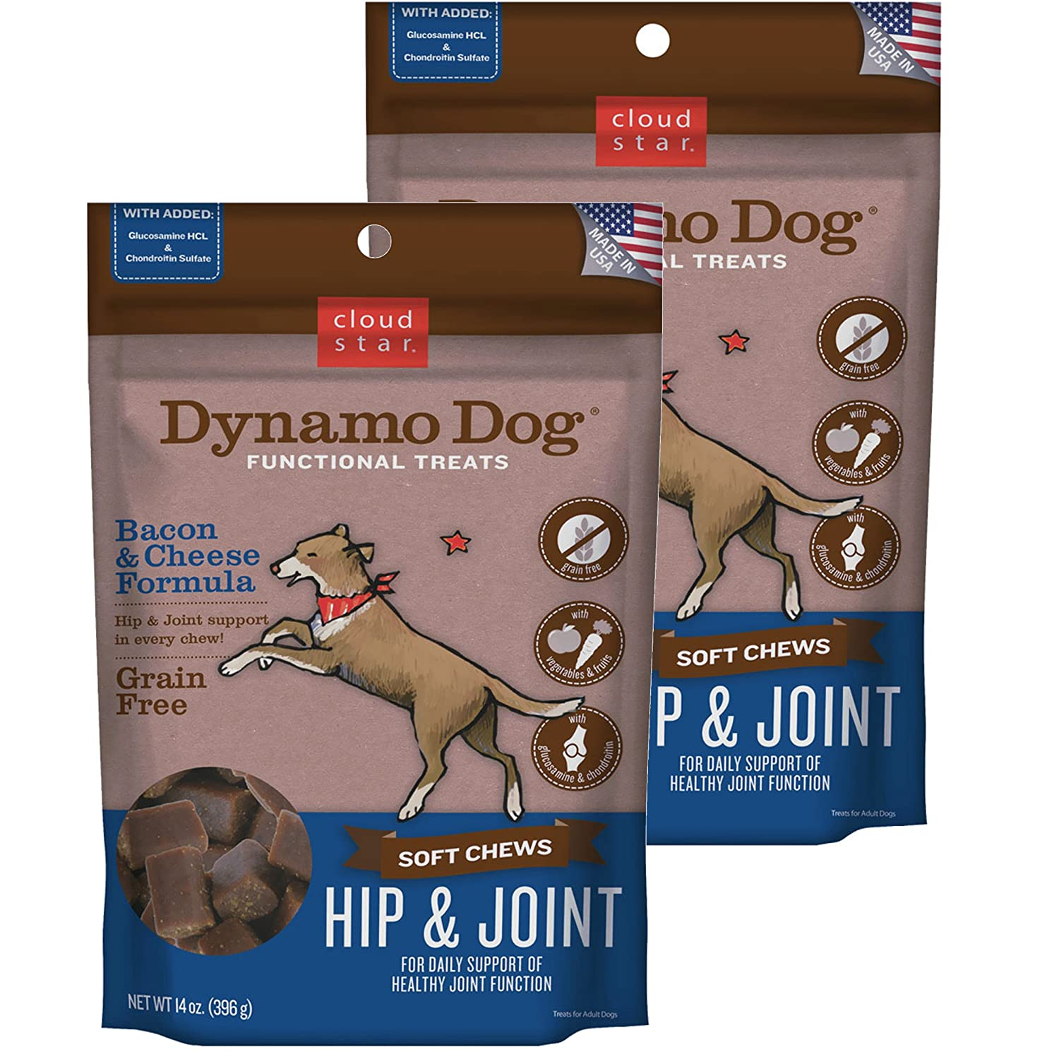 Cloud Star Dynamo Dog Functional Treats Products
