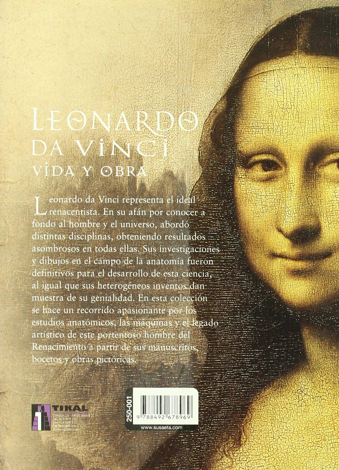 Leonardo Da Vinci. Vida Y Obra Biblioteca Leonardo Vinci ...
