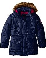 U.S. Polo Assn. Girls' Bubble Coat