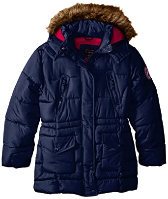 194b0cfc5 Amazon.com  U.S. Polo Assn Girls  Outerwear Jacket (More Styles ...
