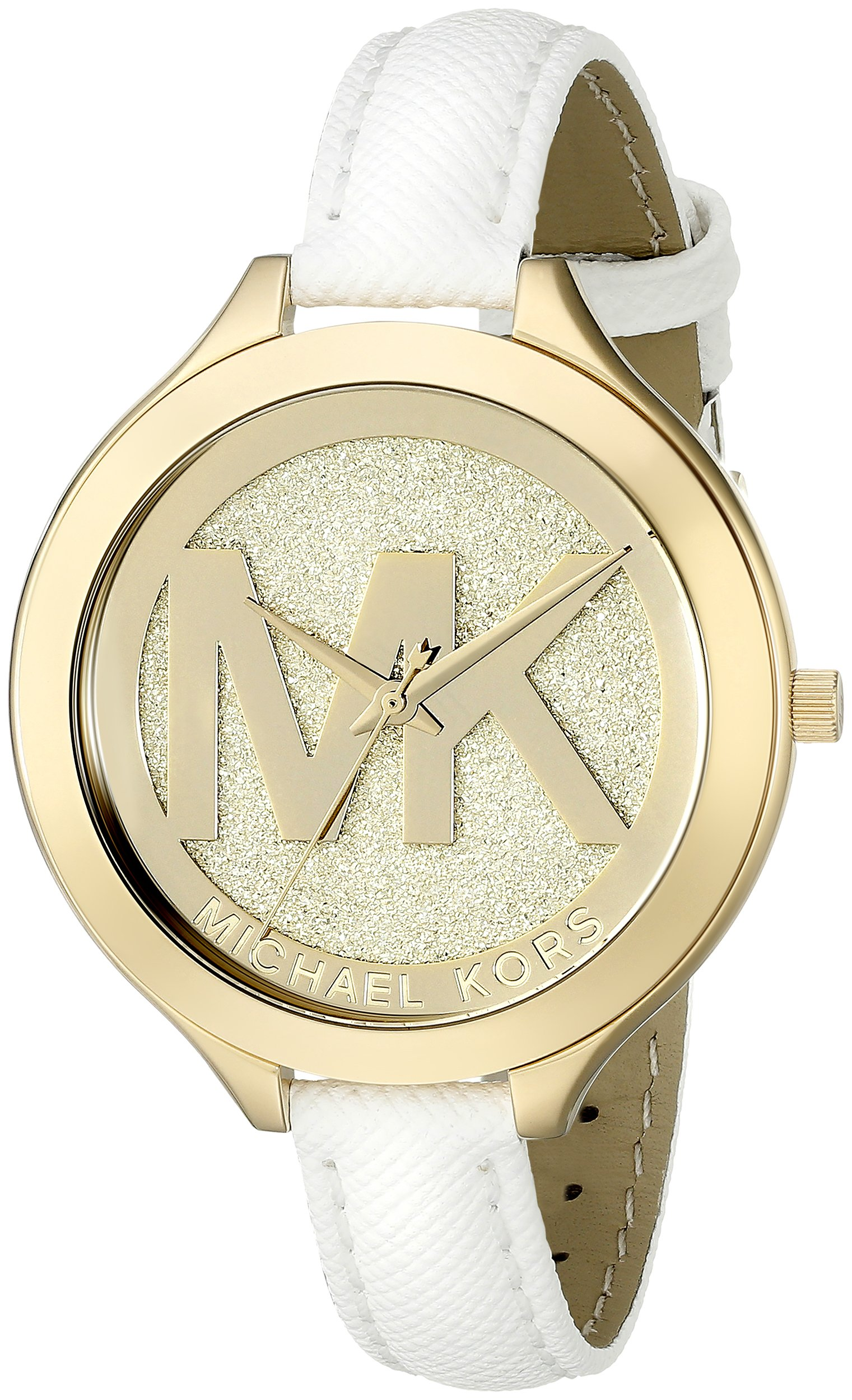 Michael Kors Women's Slim Runway White Watch MK2389