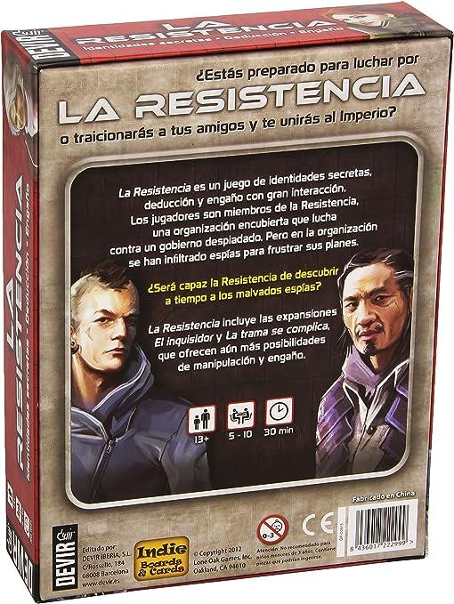 Devir- Juego de Mesa La Resistencia, Miscelanea (25197): Amazon.es ...
