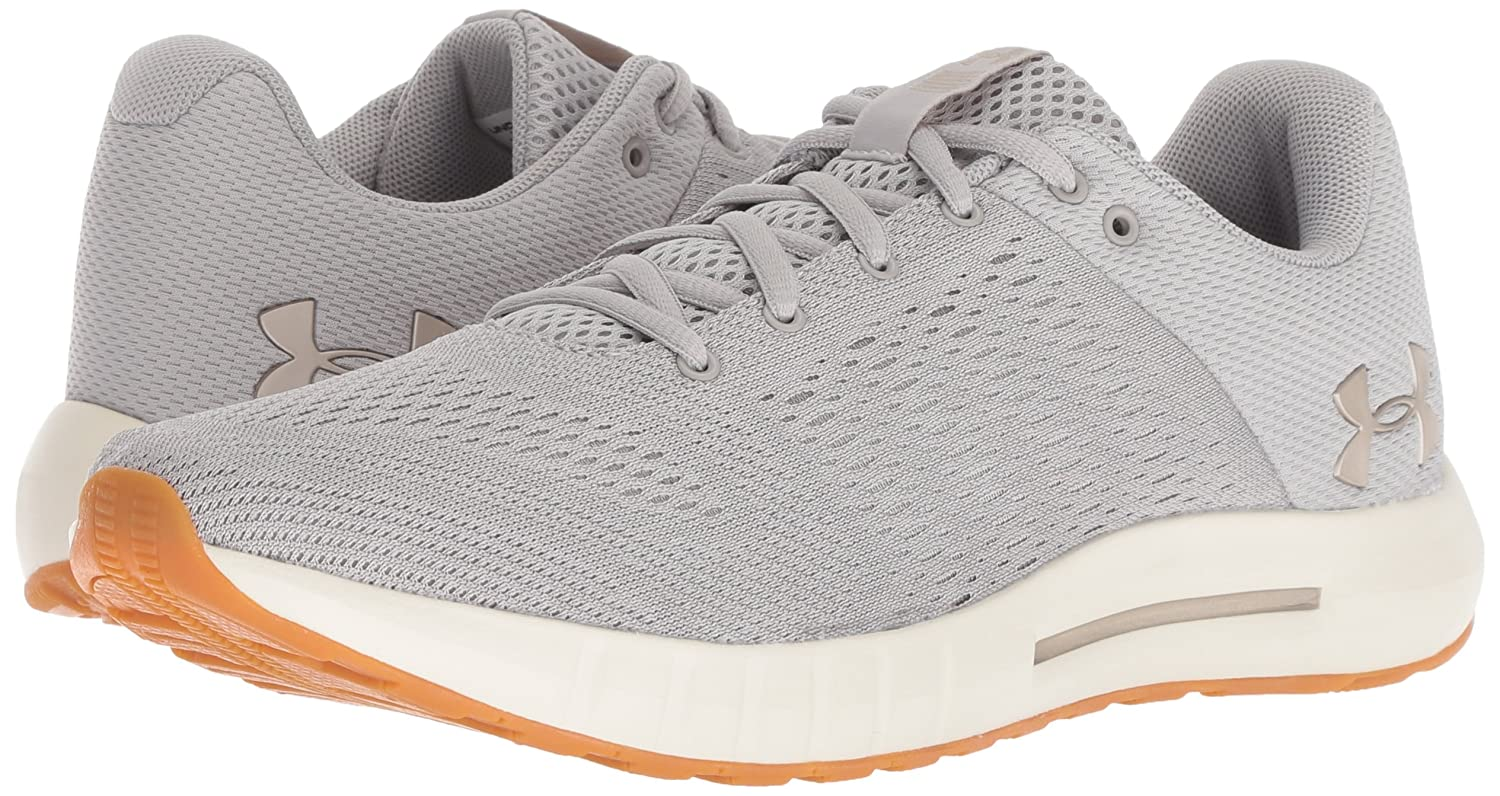 Under Armour M Women's Micro G Pursuit Sneaker B07767WP7J 7 M Armour US|Ghost Gray (109)/Ivory fd8d55