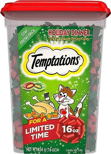 Temptations Turkey Sweet Potatoe treats 16oz Limited Edition