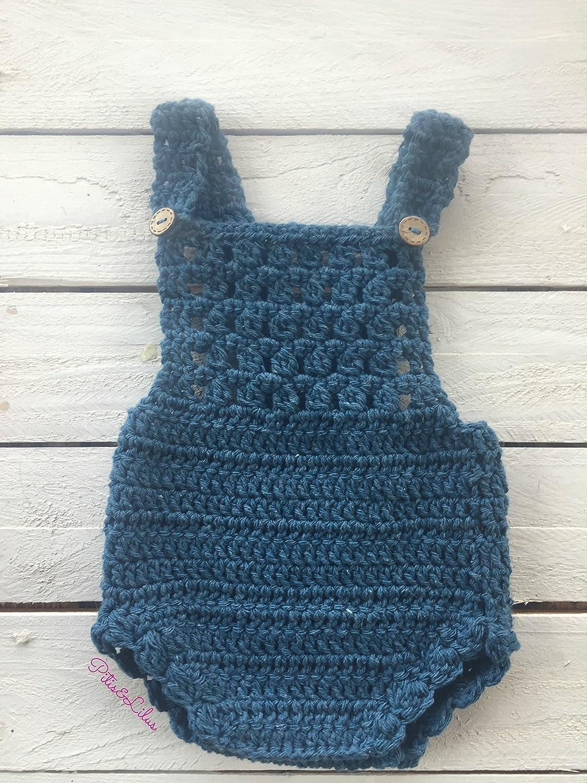 Pelele a crochet