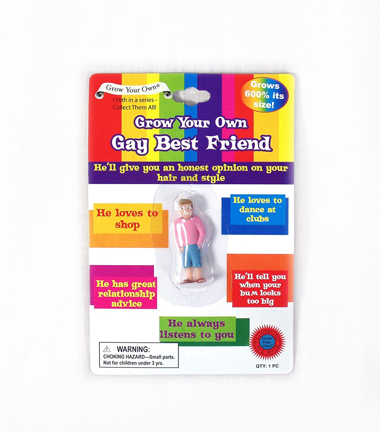 amazoncom grow your own gay best friend toys games - What To Give Your Best Friend For Christmas