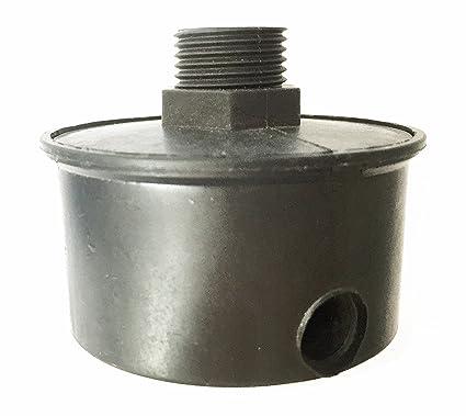Filtro de aire para compresores 1,91 cm - rosca 19,5 mm