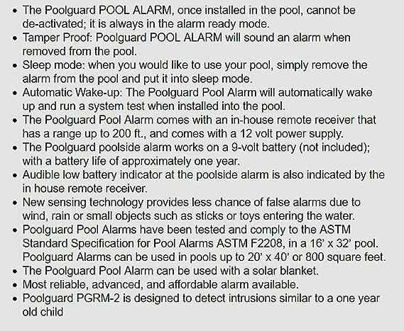 Poolguard Alarma para piscina: Amazon.es: Bricolaje y ...