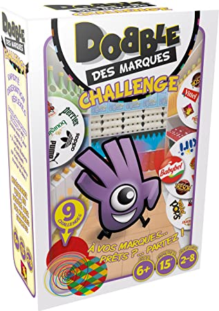 Asmodee DOBMAQ02 - Juego Dobble Des Marques Challenge ...