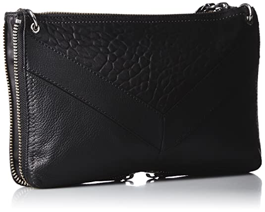 7225026d4e Diesel le-zipper Le-littsyy - Clutc, Pochettes femme, Black, 4x18.5x29 cm  (W x H L): Amazon.fr: Chaussures et Sacs