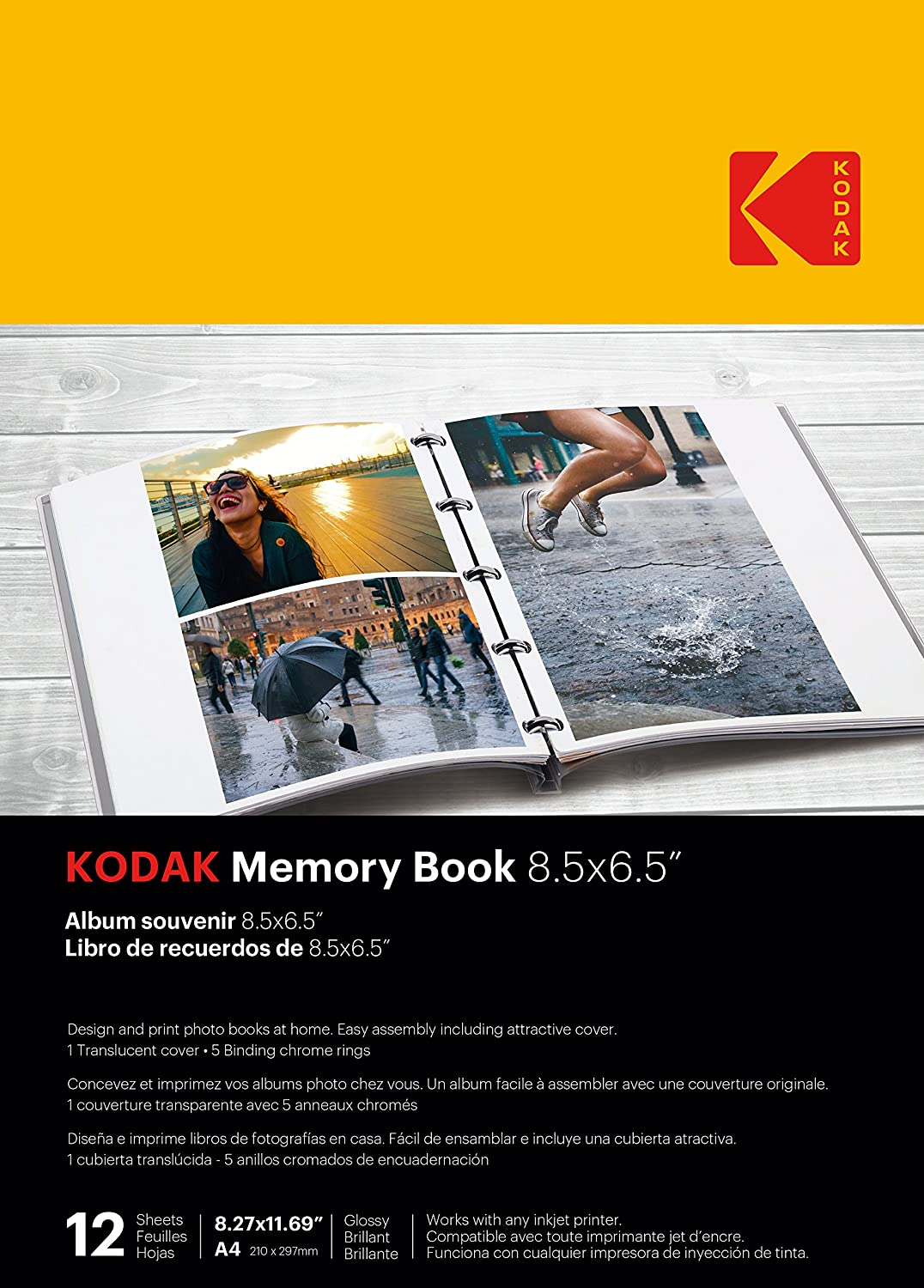 Amazon.com: Kodak Memory Book 8.5